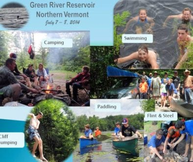 2014Jul7 8_GreenRiverReserviorCanvasCollage