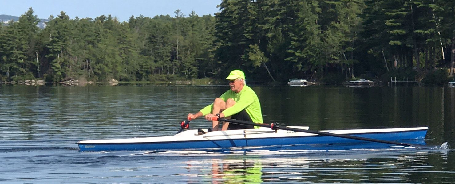 "Never say, ""I wish I had learned sweep rowing and sculling"""
